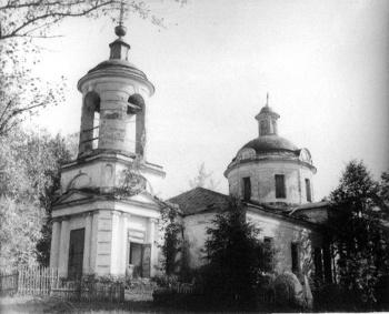 храм свв. Бориса и Глеба с. Волохово