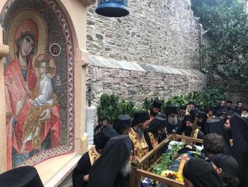 Погребение архимандрита Григория